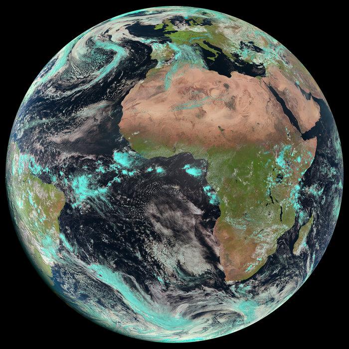 Zemljin disk iz satelita